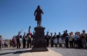 Установили памятник Тадеушу Костюшко